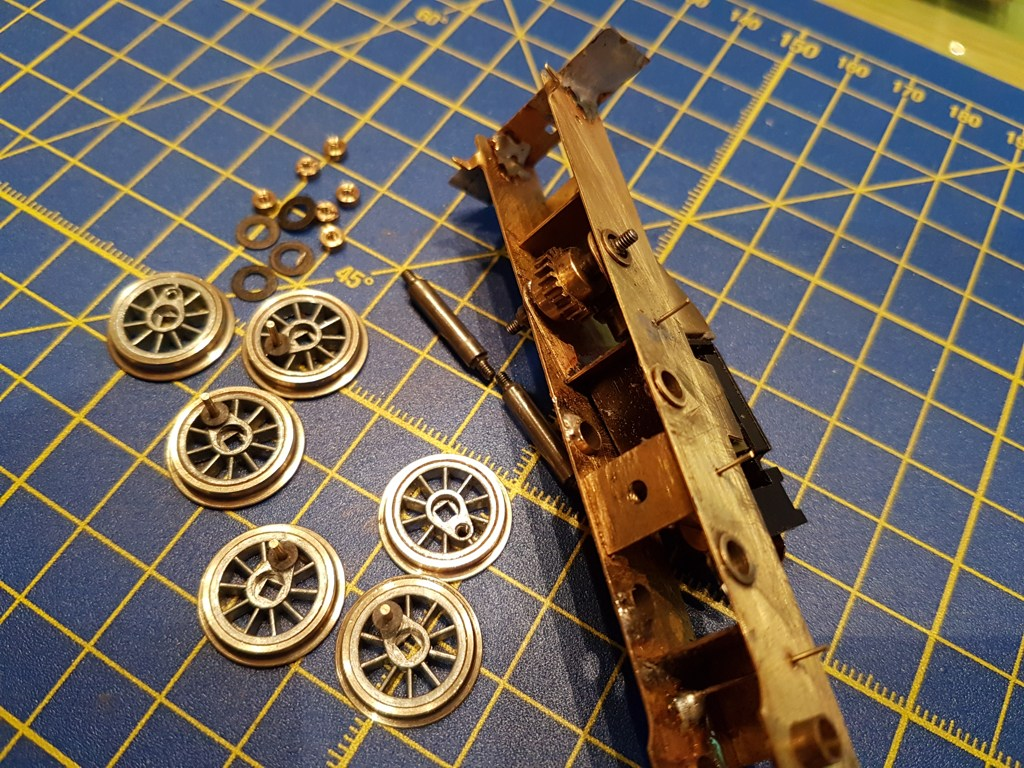 akslinger med hjul